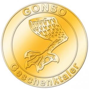 GONSO-Geschenktaler